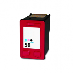 HP 58 tricolor photo cartucho de tinta compatible C6658AE
