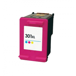 HP 301XL color V3 cartucho de tinta remanufacturado (CH564E)