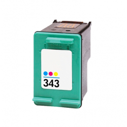 HP 343 tricolor cartucho de tinta compatible C8766EE