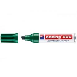 Edding 500 verde marcador permanente