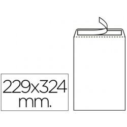 Sobre Liderpapel bolsa Din A4/C4 229x324 mm. Caja 250 uds.