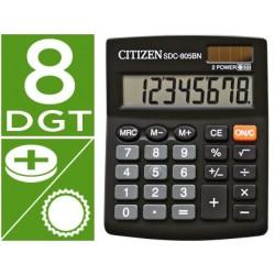 Calculadora de sobremesa Citizen SDC-805BN. 8 digitos