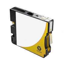 Ricoh GC21Y amarillo cartucho de tinta pigmentada compatible 405535