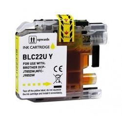 Brother LC22U amarillo cartucho de tinta compatible LC-22UY