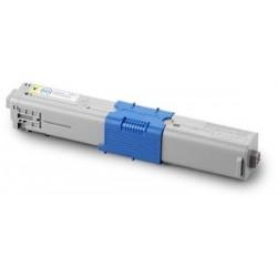 OKI C332DN/ MC363DN/ MD363DN amarillo cartucho de toner compatible 46508709/ 46508713