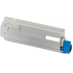OKI C5600/ C5700 amarillo cartucho de toner compatible