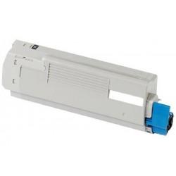 OKI C5800/ C5900/ C5550MFP negro cartucho de toner compatible 43324424