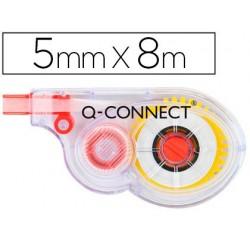 Cinta correctora Q-connect KF01593, medidas 5 mm x 8 m.