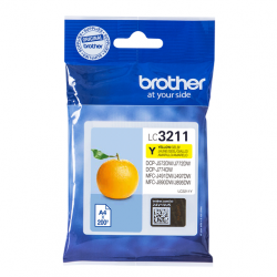 BROTHER LC3211 AMARILLO...