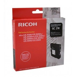Ricoh GC21K cartucho de gel negro original