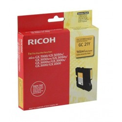 Ricoh GC 21Y amarillo cartucho de gel original